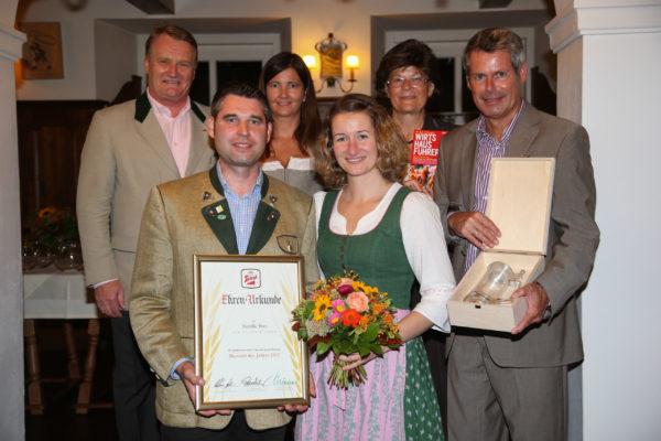 """Verleihung der Auzeichnung """"Bierwirt des Jahres"""" in der Stieglbrauerei Salzburg Foto: Franz Neumayr     8.9.2014"""